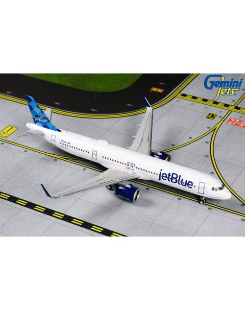 JetBlue Airbus A321neo (A321-271NX) N2002J 1/400 scale diecast Gemini Jets