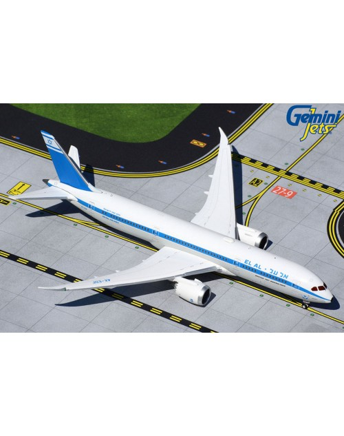 EL AL Boeing 787-9 4X-EDF Retro 1/400 scale diecast GeminiJets