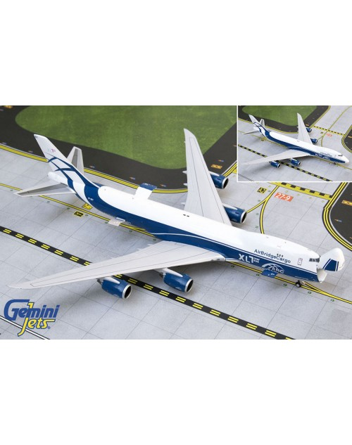 Air Bridge Cargo Boeing 747-8F VP-BBY 1/400 scale diecast Gemini Jets