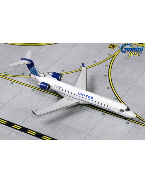 United Express Bombardier CRJ-550 N504GJ 2019 1/400 scale diecast GeminiJets