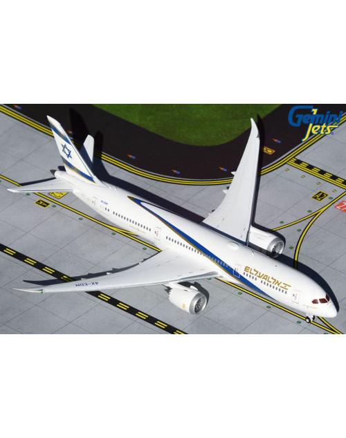 EL AL Boeing 787-9 4X-EDM Current 1/400 scale diecast GeminiJets