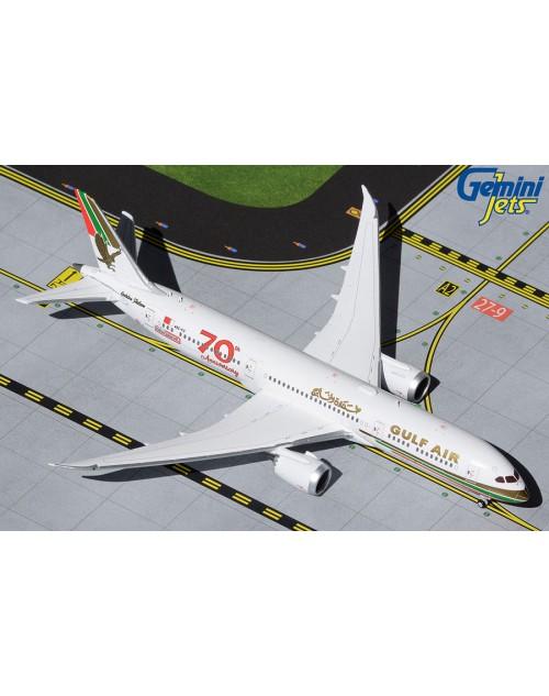 Gulf Air Boeing 787-9 A9C-FG 70th Anniversary 1/400 scale diecast GeminiJets