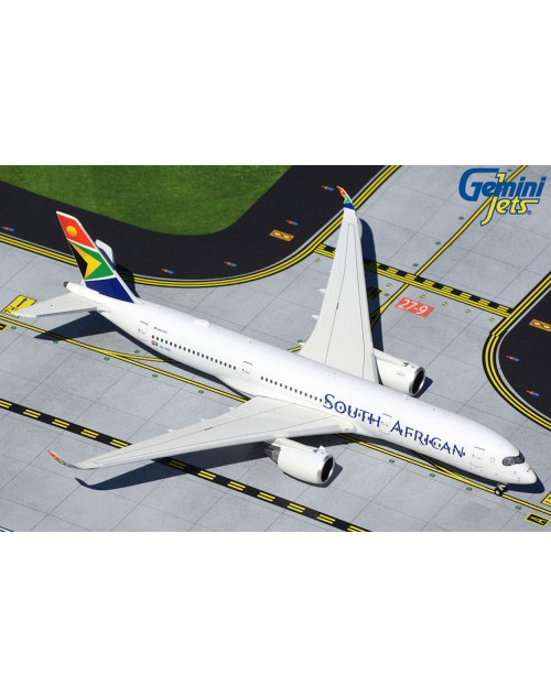 South African Airbus A350-900 ZS-SDC 1/400 scale diecast GeminiJets