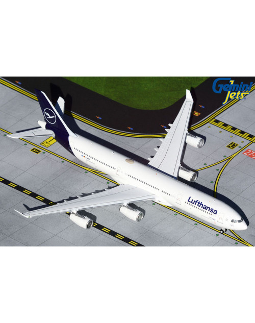 Lufthansa Airbus A340-313X D-AIFD new colors 1/400 scale diecast GeminiJet