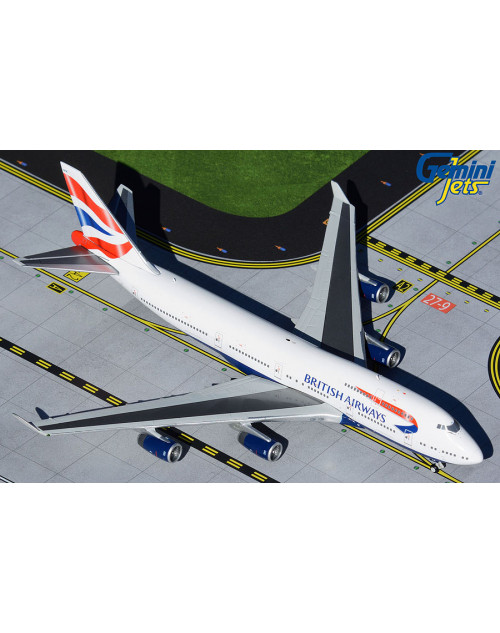 British Airways Boeing 747-436 G-CIVN Union Flag 1/400 scale diecast GeminiJets