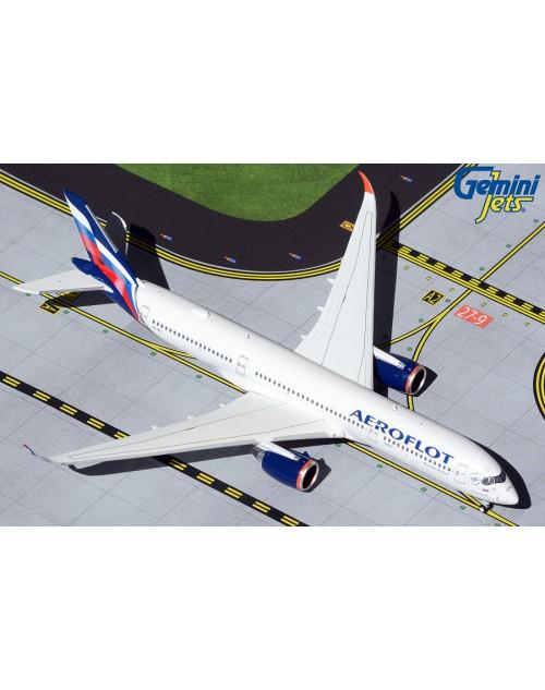 Aeroflot Airbus A350-900 VQ-BFY 1/400 scale diecast GeminiJets