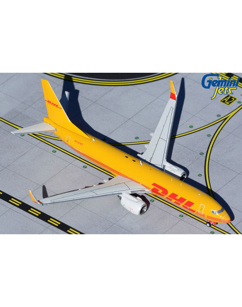 DHL Boeing 737-800BDSF 737KT current colors 1/400 scale diecast GeminiJets