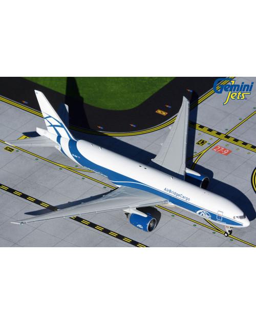 AirBridgeCargo Boeing 777-F VQ-BAO 1/400 scale diecast Gemini Jets
