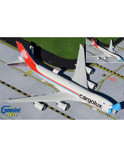 Cargolux Boeing 747-8F LX--VCF 1/400 scale diecast Gemini Jets Interactive Series