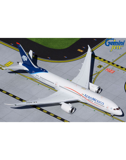 AeroMexico Boeing 787-9 XA-ADH Current colors 1/400 scale diecast GeminiJets
