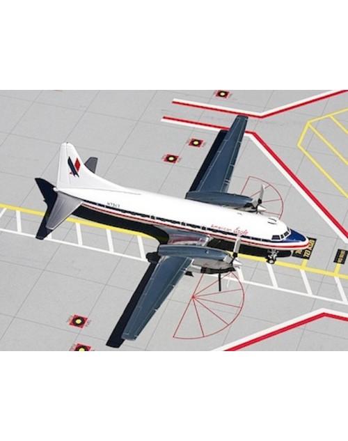 American Eagle Convair 580 N73117 1/200 scale diecast Gemini Jets