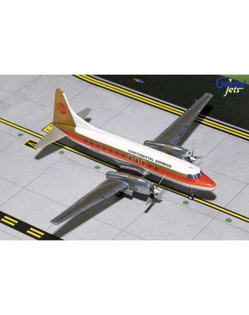 Continental Express Convair 580 N73106 Red Meatball 1/200 scale diecast GeminiJets