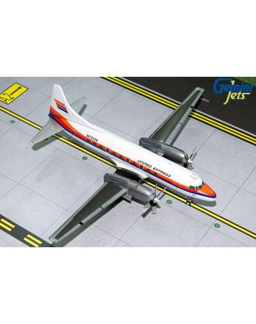 United Express Convair 580 N73126 1980s 1/200 scale diecast GeminiJets