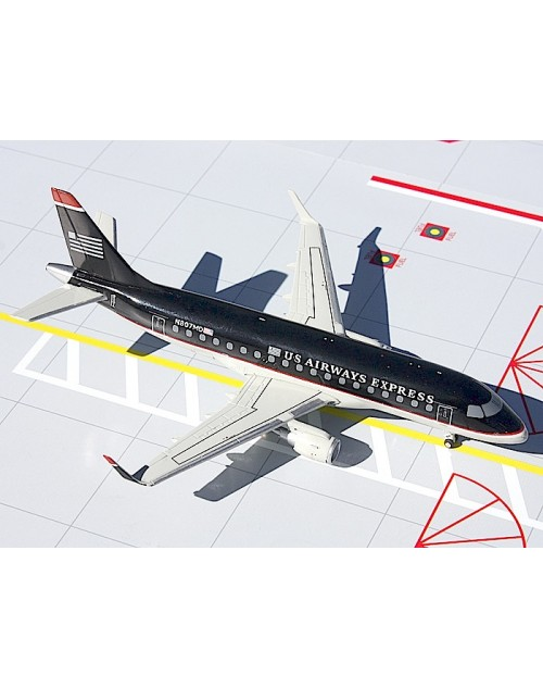 US Airways Express Embraer ERJ-170SU N807MD 1/200 scale diecast Gemini jets