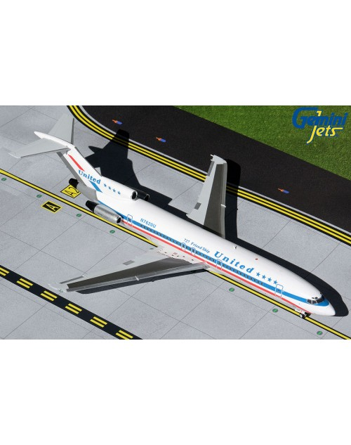 United Boeing 727-222 N7620U Friendship 1/200 scale diecast Gemini Jets
