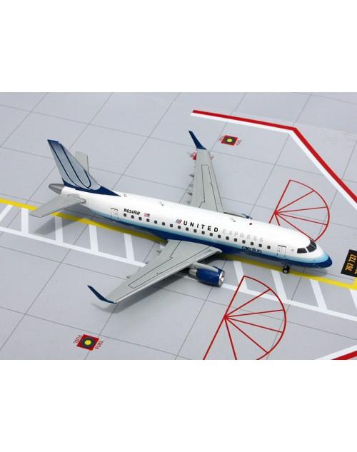 United Express (Shuttle America) Explus Embraer ERJ-170-100SE N634RW 1/200 scale diecast Gemini jets