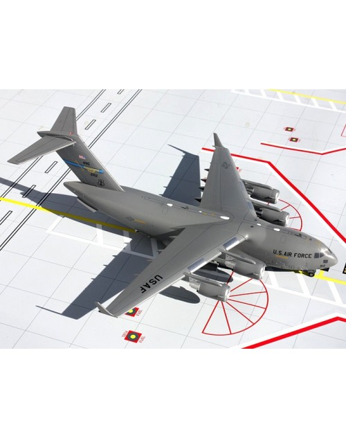 US Air Force Boeing C-17 Globemaster III Mississippi ANG 21112 1/200 scale diecast Gemini Jets