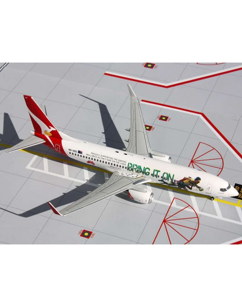 Qantas Boeing 737-838 Winglets VH-VXG Bring it on 1/200 scale diecast Gemini jets