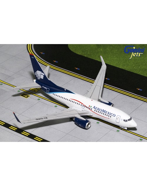 AeroMexico Boeing 737-700/Winglets EI-DRD 1/200 scale diecast GeminiJets
