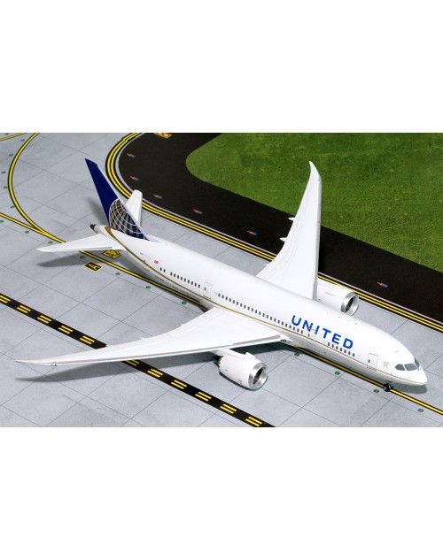 United Boeing 787-8 Dreamliner N27901 post merger 1/200 scale diecast Gemini Jets