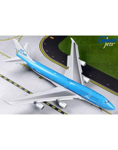 KLM Boeing 747-406M PH-BFW FLAPS DOWN 1/200 scale diecast Gemini 200