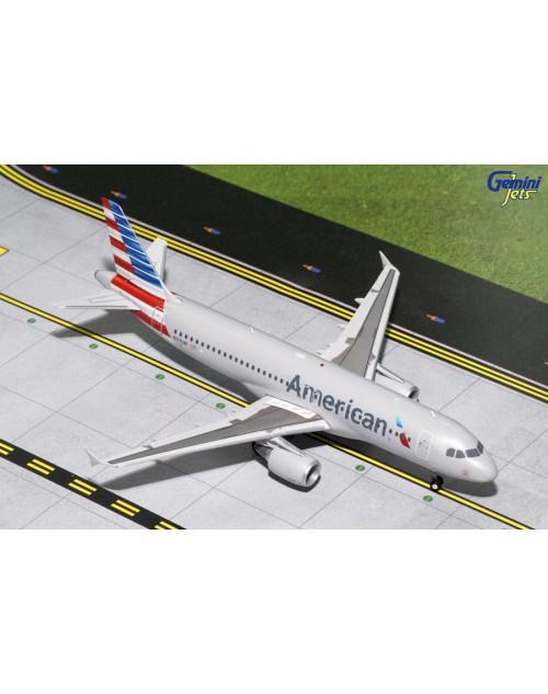 American Airbus A320-214 N117UW 1/200 scale diecast Gemini jets