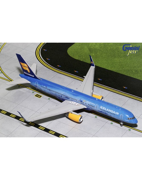 Icelandair Boeing 757-256 Winglets TF-FIR 80th 1/200 scale diecast Gemini jets