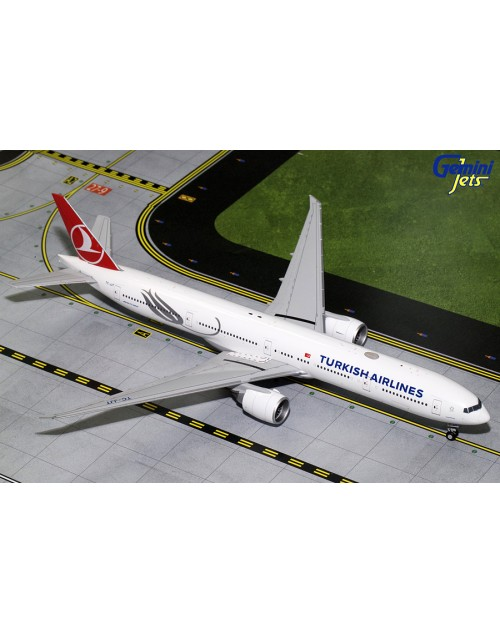 Turkish Airlines Boeing 777-3F2ER TC-JJT 1/200 scale diecast Gemini Jets