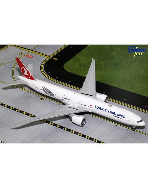 Turkish Airlines Boeing 777-3F2ER TC-JJT 1/200 scale diecast Gemini Jets