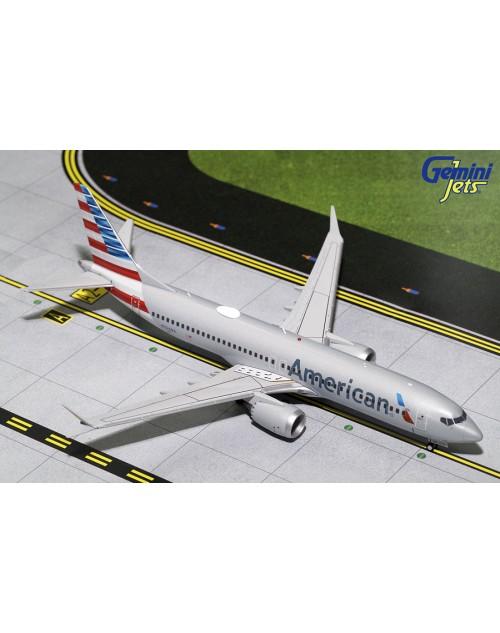 American Boeing 737 Max 8 N324RA 1/200 scale diecast Gemini jets
