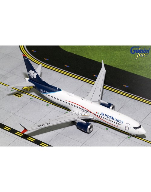 AeroMexico Boeing 737 Max-8 XA-MAG 1/200 scale diecast Gemini jets