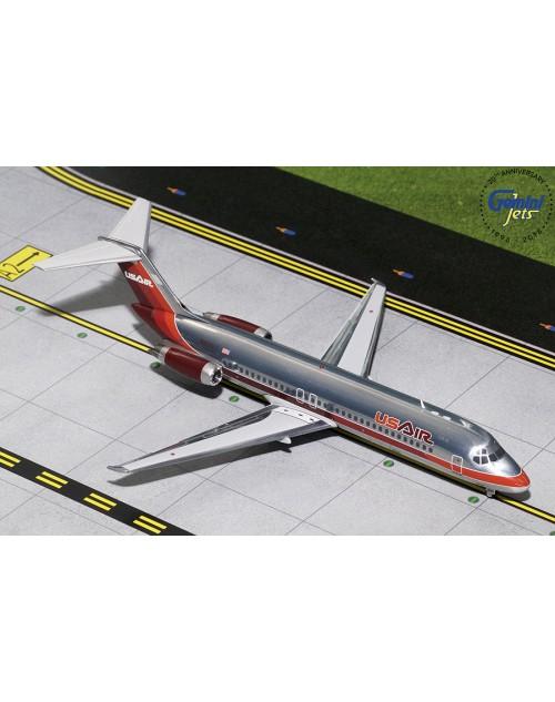 USAir Mc. D Douglas DC-9-31 N950VJ Maroon 1/200 scale diecast Gemini Jets