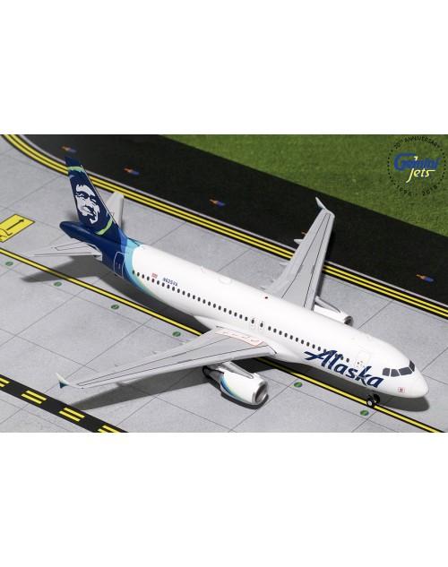 Alaska Airbus A320-214 N625VA new colors 1/200 scale diecast Gemini jets