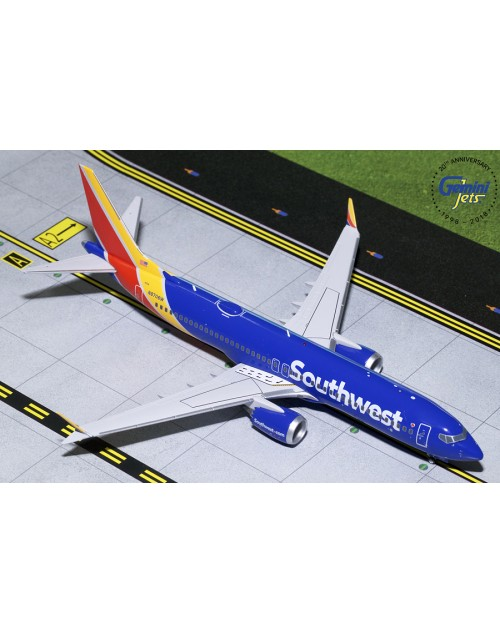 Southwest Boeing 737 Max-8 N8706W 1/200 scale diecast Gemini jets