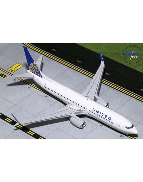 United Boeing 737-824 Scimitar N14237 1/200 scale diecast Gemini jets