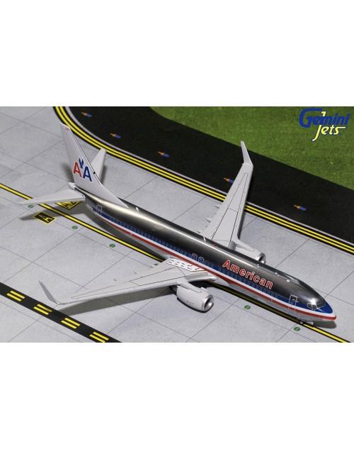 American Boeing 737-800/Winglets N921NN 1/200 scale diecast Gemini jets