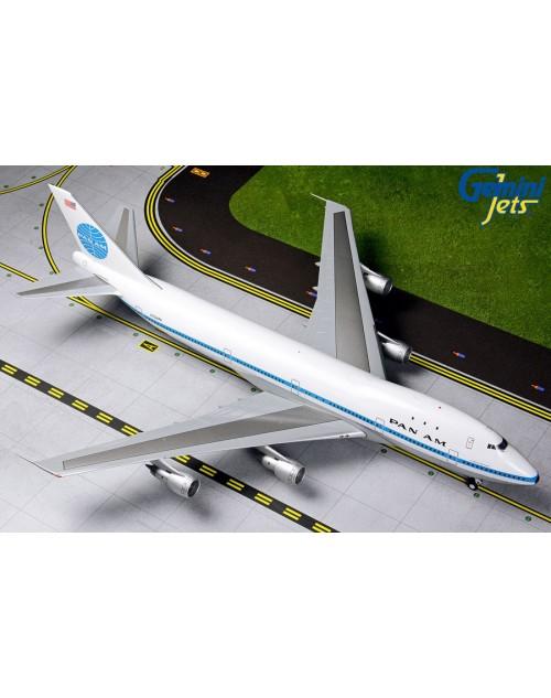 Pan Am Boeing 747-121 N734PA 1970s colors 1/200 scale diecast GeminiJets