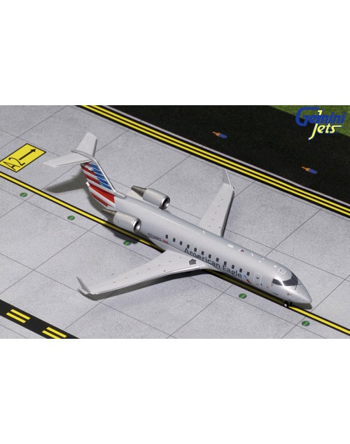 American Eagle Bombardier CRJ-200 N230PS 1/200 scale diecast GeminiJets