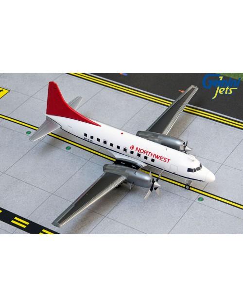 Northwest Convair 580 N3423 1980s 1/200 scale diecast GeminiJets