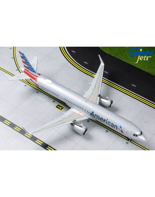 American Airbus A321-253Neo N400AN 1/200 scale diecast GeminiJets 200