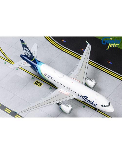 Alaska Airbus A319-112 N530VA 1/200 scale diecast Gemini Jets