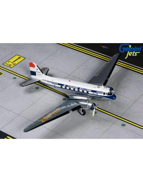 KLM Flying Dutchman Douglas DC-3 PH-DAZ 1950's 1/200 scale diecast GeminiJets
