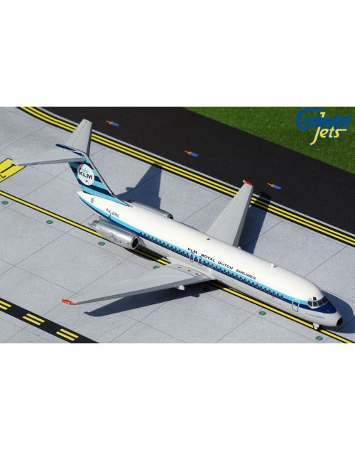 KLM Douglas DC-9-32 PH-DNG 1970s colors 1/200 scale diecast Gemini Jets