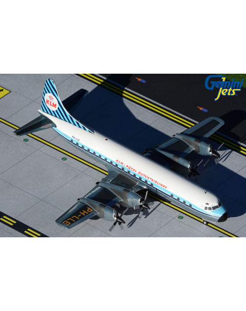 KLM Lockheed L-188C Electra PH-LLE 1/200 scale diecast GeminiJets