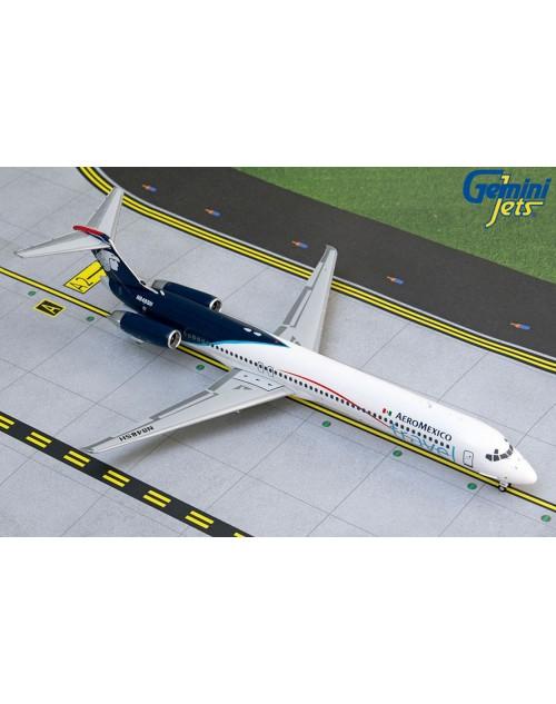 AeroMexico Travel McD Douglas MD-82 N848SH 2010s 1/200 scale diecast GeminiJets