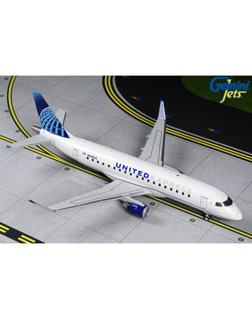United Express (ExpressJet) ERJ-175 N605UX 1/200 scale diecast Gemini jets 200