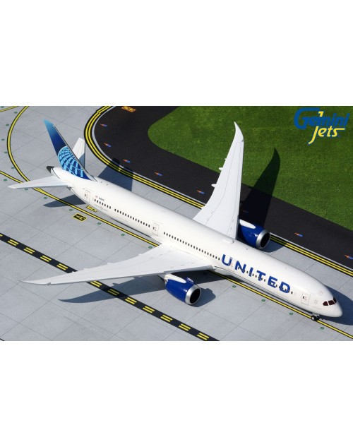 United Boeing 787-10 N12010 New Colors 1/400 scale diecast GeminiJets