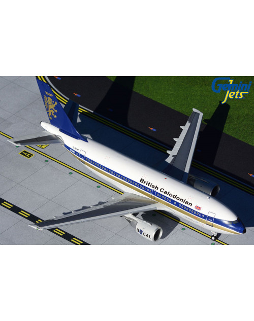 British Caledonian Airbus A310-203 G-BKWT 1980s colors 1/200 scale diecast GeminiJets