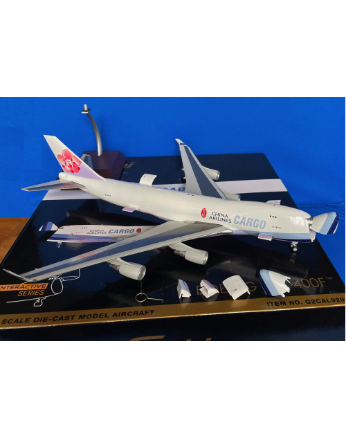 China Airlines Cargo Boeing 747-400F B-18710 1/200 scale diecast Gemini Jets Interactive series