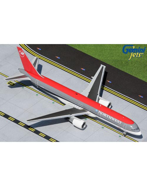 Northwest Boeing 757-200 N541US Bowling Shoe 1/200 scale diecast Gemini jets